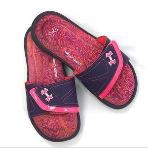 Under Armour Women's Slides/Sandals Purple 6